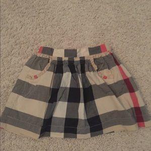 Girls Burberry Skirt 5Y